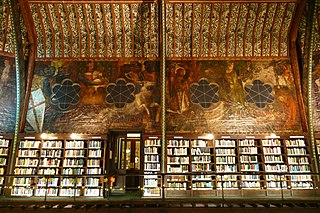 Oxford Union murals