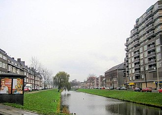 Feijenoord district - Image: Rotterdam Lange Hilleweg 02 12 2006