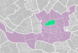 Noord, Rotterdam - Image: Rotterdamse wijken noord