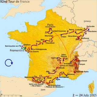 2005 Tour de France cycling race