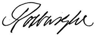John Ker, 3rd Duke of Roxburghe - Image: Roxburghe signature