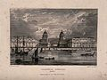 Royal Naval Hospital, Greenwich, with ships and rowing boats Wellcome V0013279.jpg