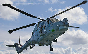 Westland Lynx - A Royal Navy Lynx HMA.8 of the Lynx Operational Evaluation Unit