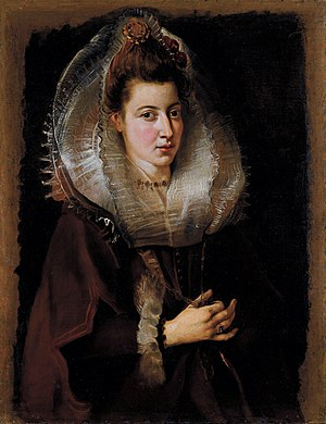 Portrait of a Young Woman (Rubens) - Image: Rubens Portrait of a Young Woman 002