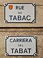 Rue du Tabac (Toulouse) - Plaques.jpg