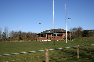 English: Rugby Football Ground Dorchester Rugb...
