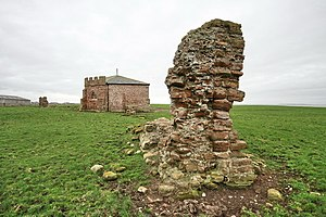 Cockersand Abbey - Image: Ruins at Cockersand Abbey geograph.org.uk 1188056