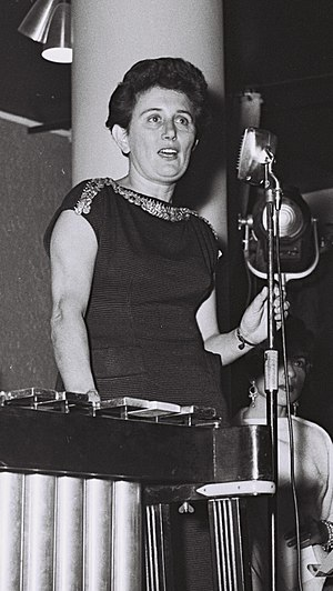 Ruth Dayan - Ruth Dayan in 1955