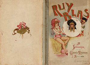 George Edwardes - Souvenir programme from Ruy Blas and the Blasé Roué