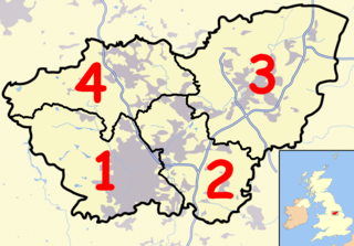 Civil parishes in South Yorkshire