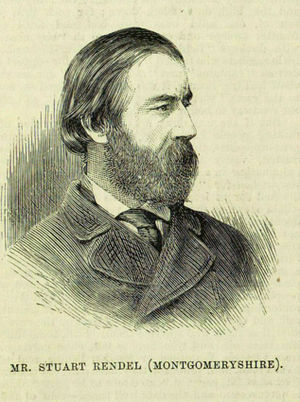 Stuart Rendel, 1st Baron Rendel - Rendel in 1880