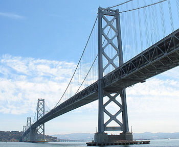 English: The San Francisco – Oakland Bay Bridg...