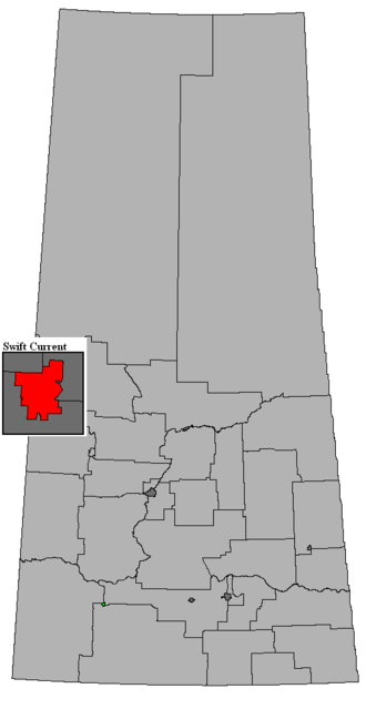Swift Current (provincial electoral district) - Image: SK 2016 Swift Current