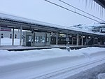 SNOW! Yonezawa Station 2017-1-25 (31672862604).jpg