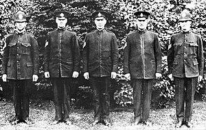 Saskatoon Police Service - 1910 Police Force