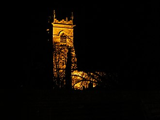 Wangford - Wangford Church at night