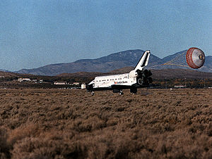 STS-66 - Atlantis Lands to conclude the STS-66 mission.