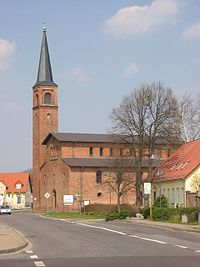 Saarmund church