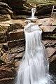 Sabbaday Falls Trail, Kancamagus Hwy, Waterville Valley (494205) (11924092555).jpg