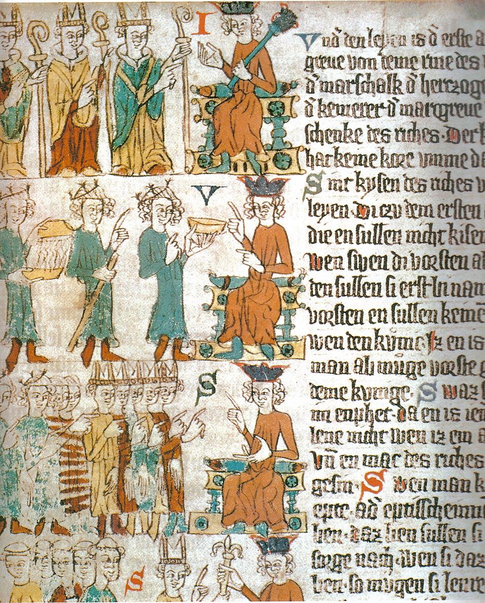 Sachsenspiegel die wahl des deutschen Königs