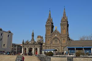 Sacred Heart of Jesus Cathedral, Shenyang - Image: Sacred Heart Cathedral of Shenyang