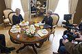 Saeimas priekšsēdētāja Ināra Mūrniece tiekas ar Polijas vēstnieci (16773108291).jpg