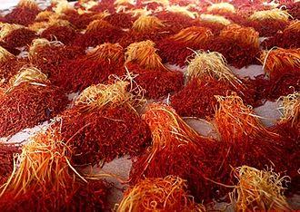Saffron (color) - Image: Saffron Crop