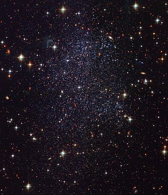 Sagittarius Dwarf Irregular Galaxy - SagDIG by Hubble Space Telescope