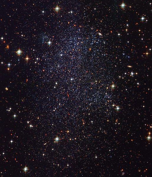 Карликовая неправильная галактика в Стрельце (SagDIG)