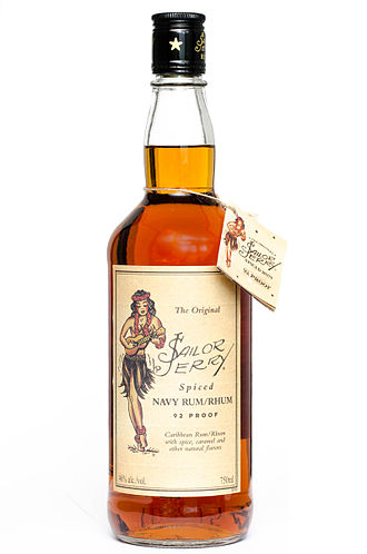 Sailor Jerry - Examples of merchandise from Sailor Jerry Ltd.