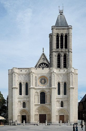 Basilica of Saint-Denis - West façade of Saint Denis