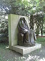Saint-Gaudens National Historic Site - Adams Memorial casting oblique.jpg