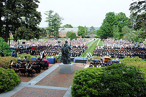 Saint Anselm College graduation