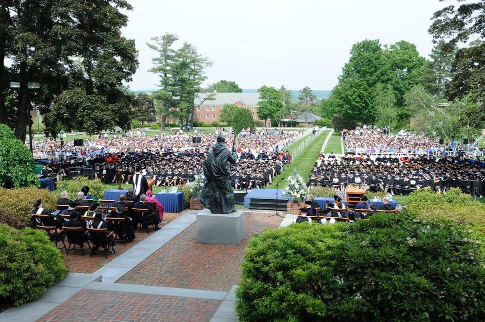 Saint Anselm College Graduation 12