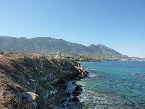 Lapithos - The coast at Lapithos