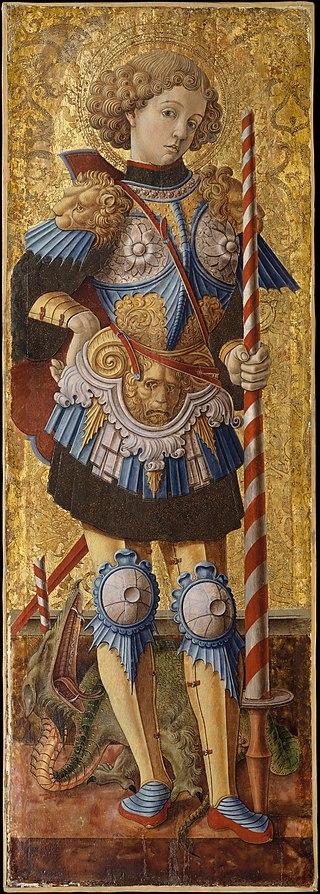 San Giorgio di Carlo Crivelli (1472)