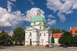 Saint Kazimierz Church in Warsaw - New Town.jpg