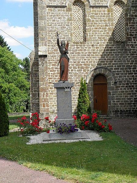 Monument aux morts de Sainte-Marie-du-Bois (53).