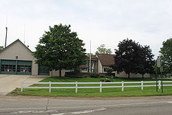 Township Hall, Six Mile & Salem Rds.