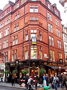 The Salisbury Is A Grade II Listed Public House At 91 93 St Martins Lane Covent Garden London