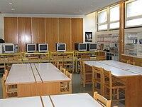 Salle multimédia du CDI du lycée Pierre-et-Marie-Curie