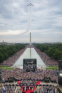 2019 Salute to America 2019 event in Washington DC