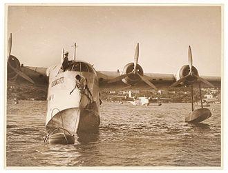 Short Empire - An Empire, G-AFBK, named 'Coolangatta', June 1936