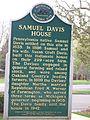 Samuel Davis House Marker.JPG