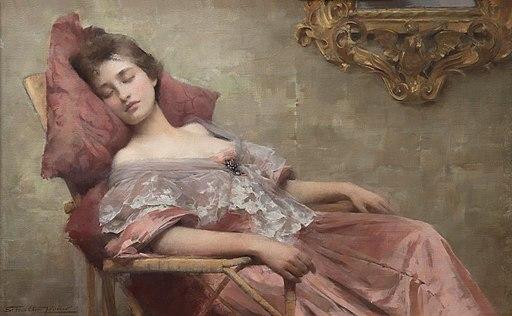 Samuel Melton Fisher - Asleep - MU-47 - Auckland Art Gallery