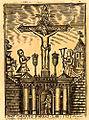Sanctuaire à répit Calvaire d'Arras sur le registre paroissial de Mory XVIIIe s.jpg