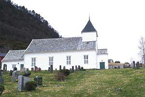 Masfjorden - Sandnes Church