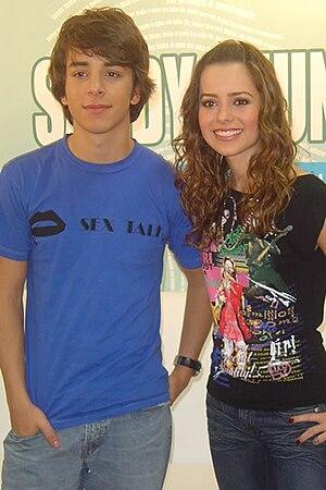 Sandy & Junior - Sandy and Junior in 2004.