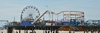 Pacific Park - Image: Santa Monica Pier P4060289