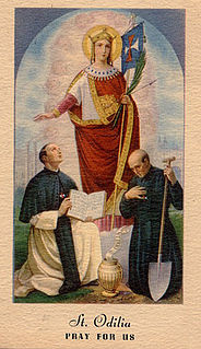 Odilia of Cologne martyr and saint